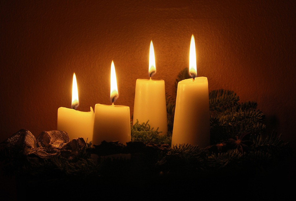 advent candles | Gnostic Devotions